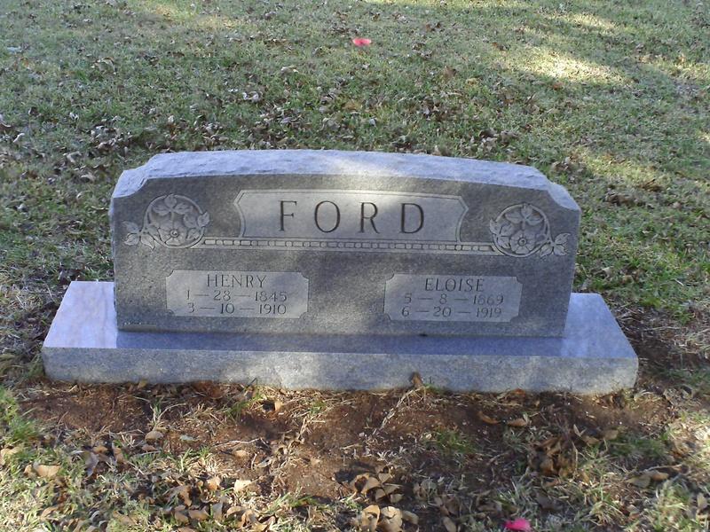 Henry Ford - Greenleaf Cemetery